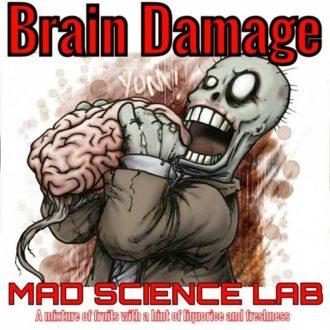 10ml Mad Science Lab Essence - Brain Damage makutiiviste
