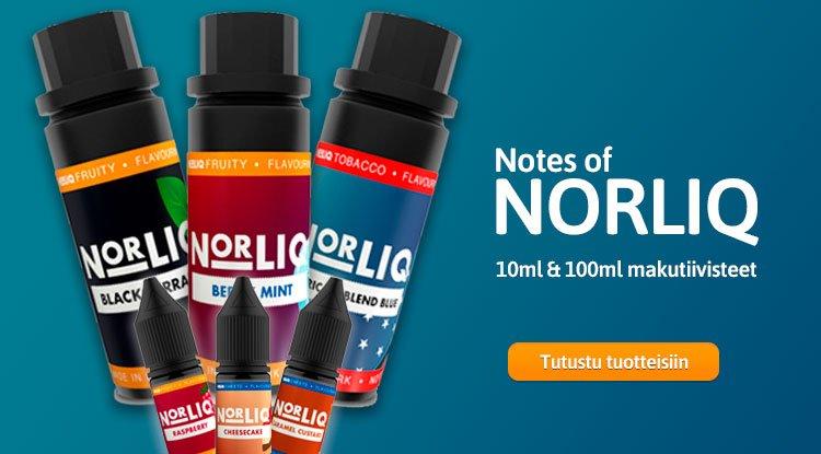 Notes of Norliq makutiivisteet